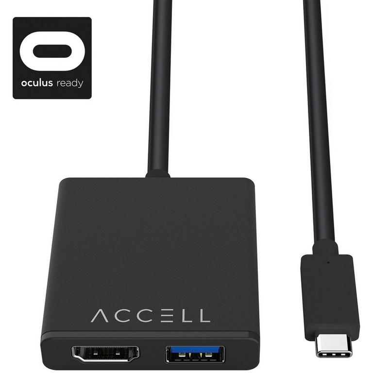 USB-C to HDMI 2.0 and USB-A 3.0 VR Adapter