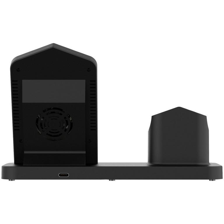 3-in-1 Black Fast Wireless Charger