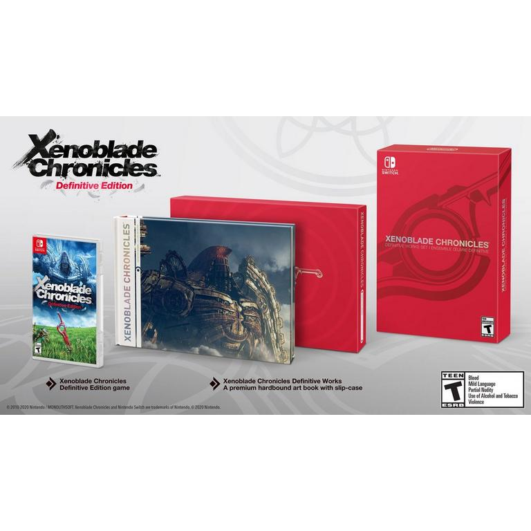 Xenoblade Chronicles Definitive Works Set