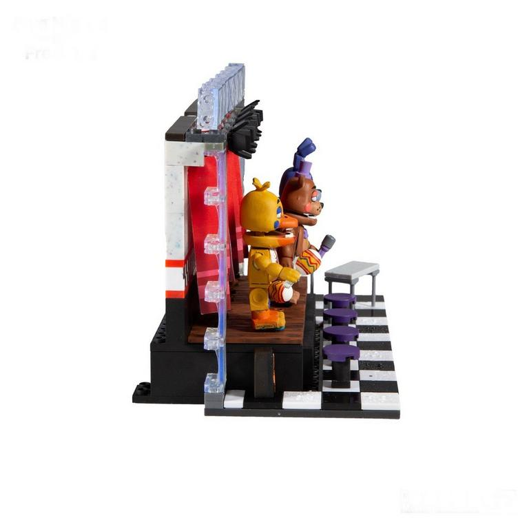 Five Nights at Freddy's Concert Stage Deluxe Large Construction Set