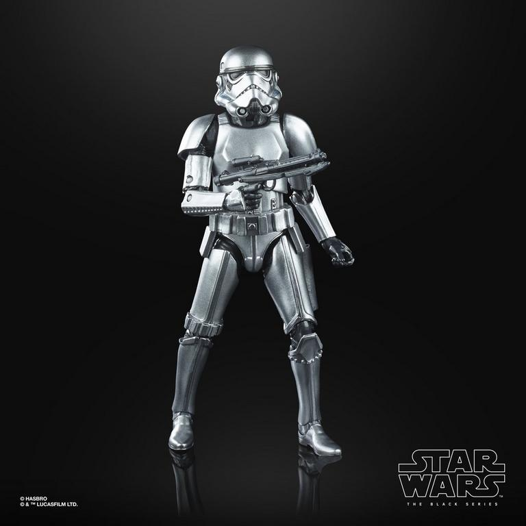 Star Wars: The Empire Strikes Back Stormtrooper The Black Series Carbonized Collection Action Figure