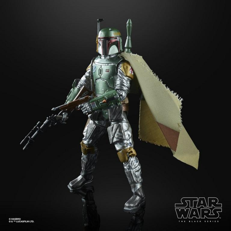 Star Wars: The Empire Strikes Back Boba Fett The Black Series Carbonized Collection Action Figure
