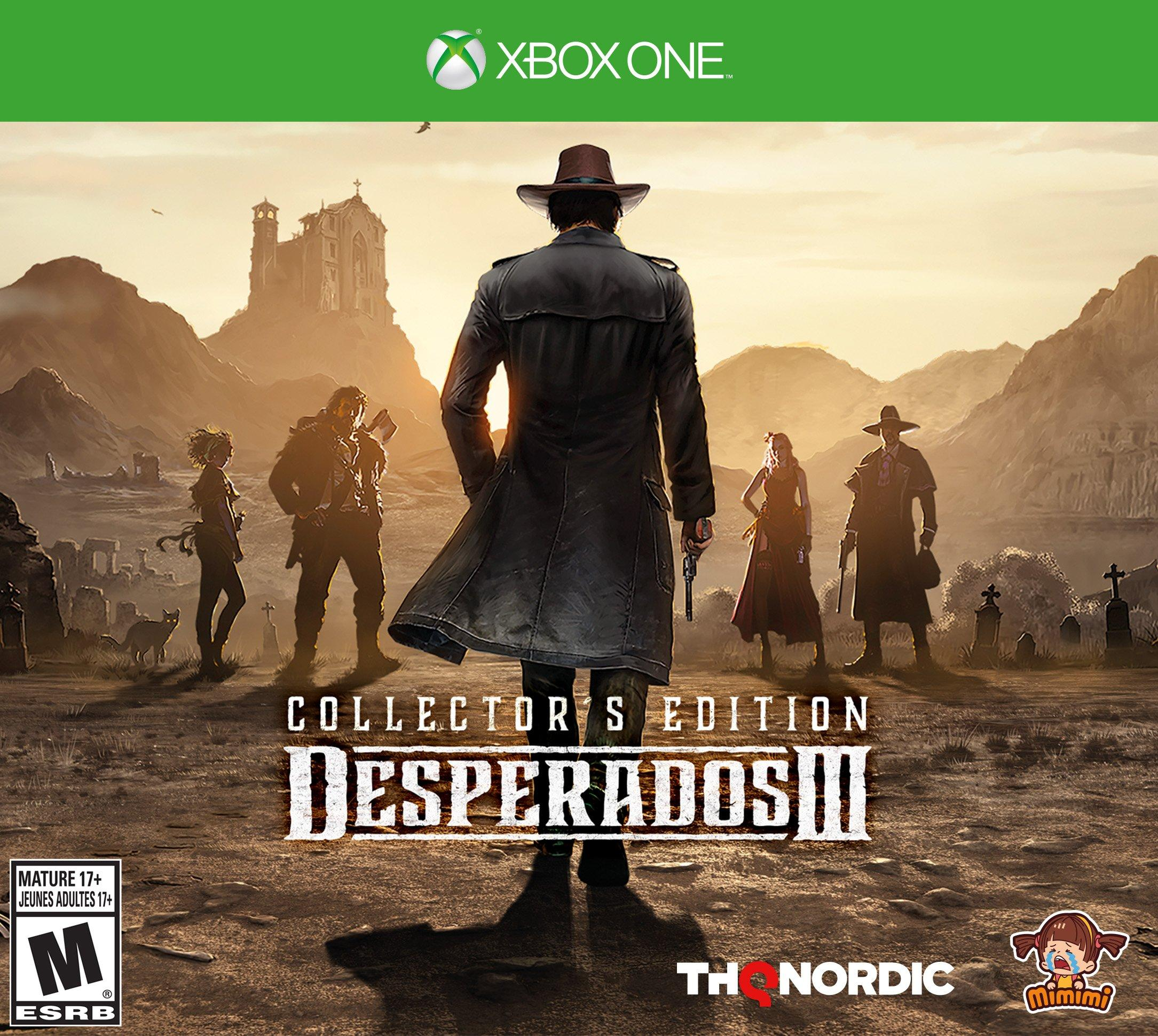 Desperados Iii Collector S Edition Xbox One Gamestop