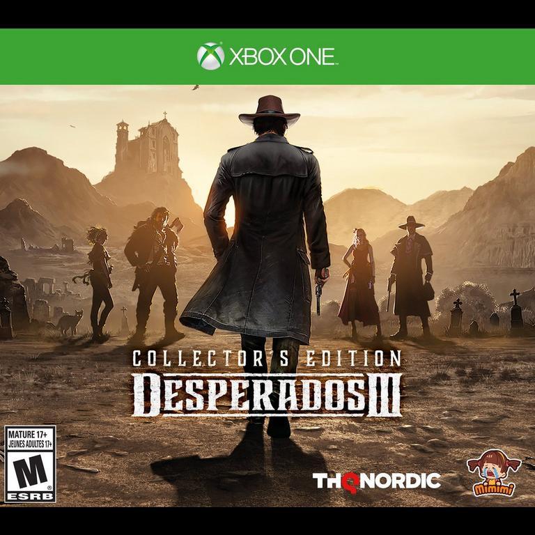 Desperados Iii Collector S Edition Xbox One Gamestop
