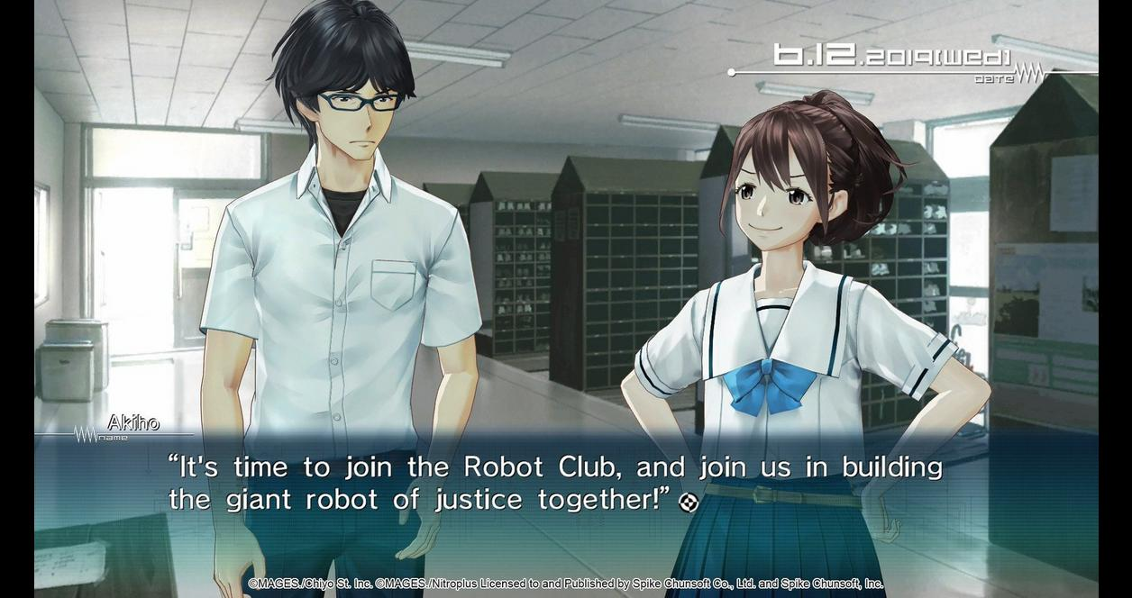 ROBOTICS;NOTES ELITE and DaSH Double Pack Day One Edition