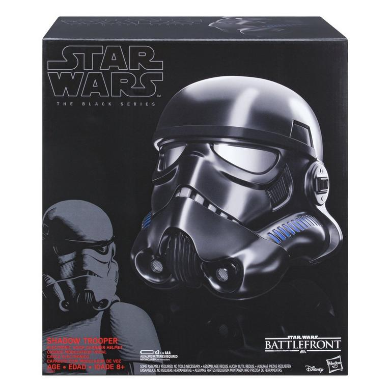 Star Wars: Battlefront Shadow Trooper The Black Series Voice Changer Helmet Only at GameStop
