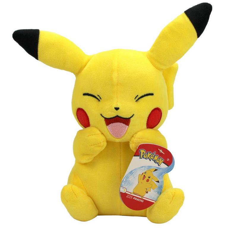 Pokemon Pikachu Laughing Plush 8 in