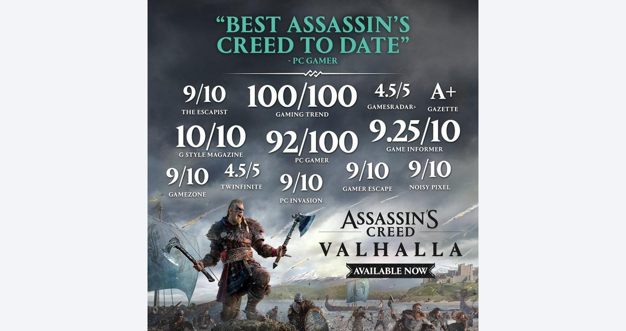 Assassin's Creed Valhalla Ultimate Steelbook Edition Only at GameStop