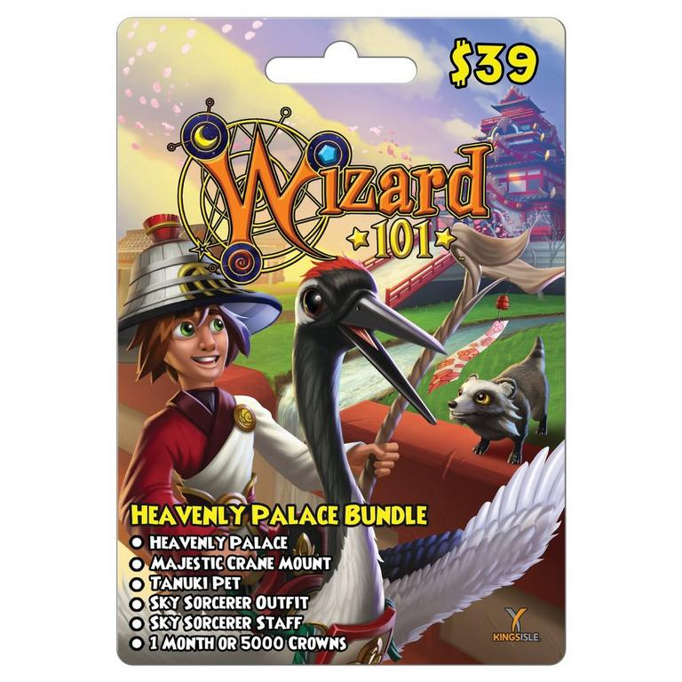 Wizard101 Heavenly Palace Bundle Card