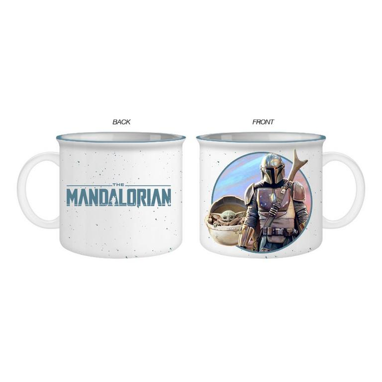 Star Wars: The Mandalorian - The Mandalorian and The Child Camper Mug