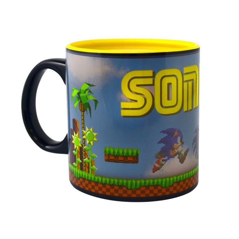 Sonic the Hedgehog 16-bit Heat Change Mug