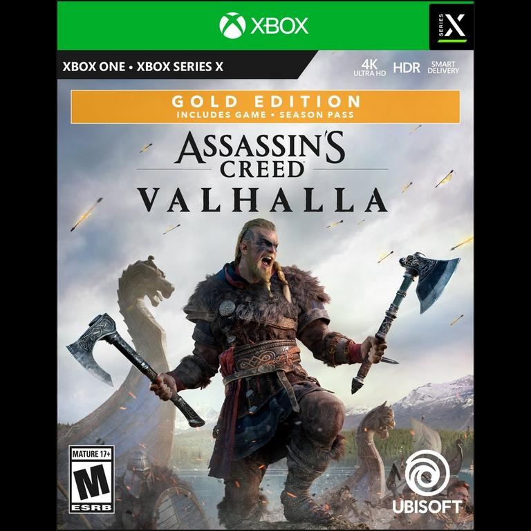 Assassin S Creed Valhalla Gold Edition Xbox One Gamestop