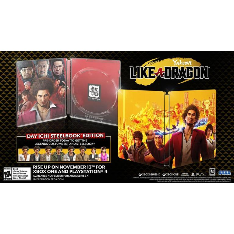 Yakuza: Like a Dragon Day One Edition - Xbox One
