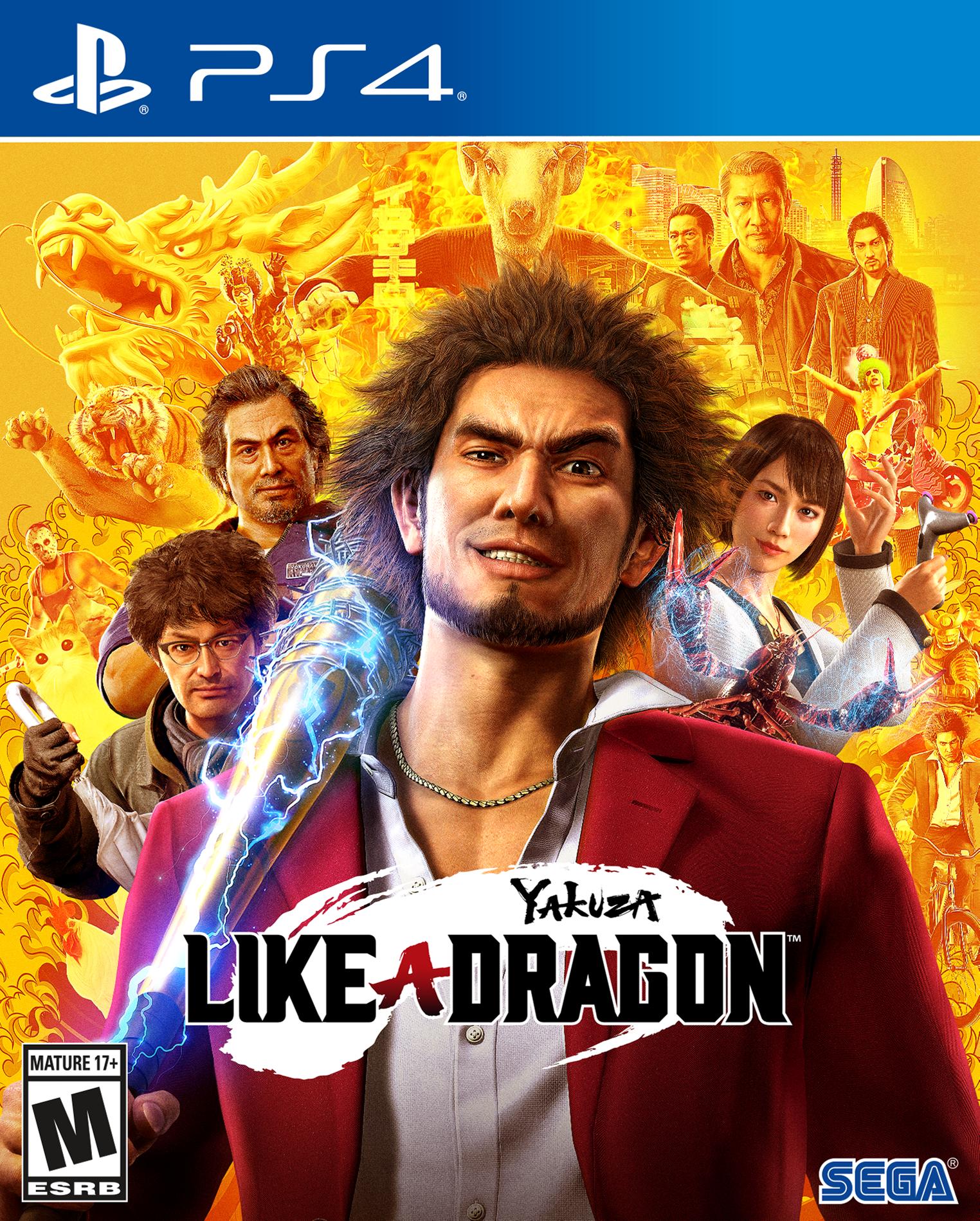 Yakuza Like A Dragon Day One Edition Playstation 4 Gamestop