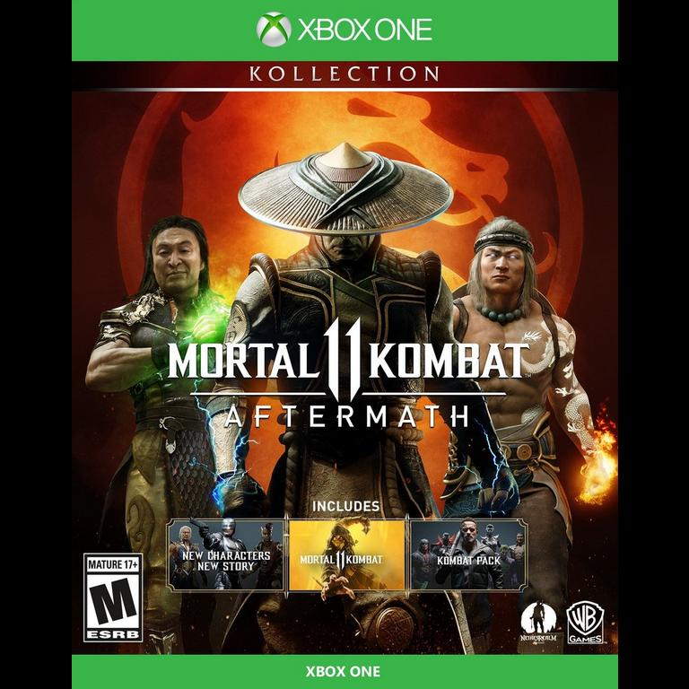 Mortal Kombat 11 Aftermath Kollection Xbox One Gamestop
