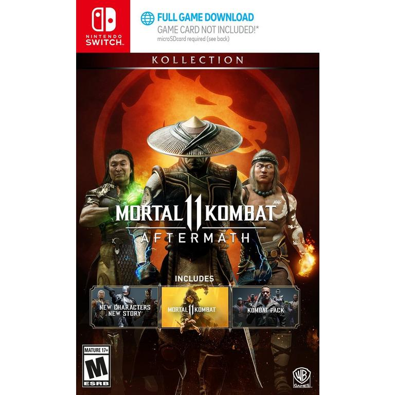 Mortal Kombat 11 Aftermath Kollection Nintendo Switch Gamestop