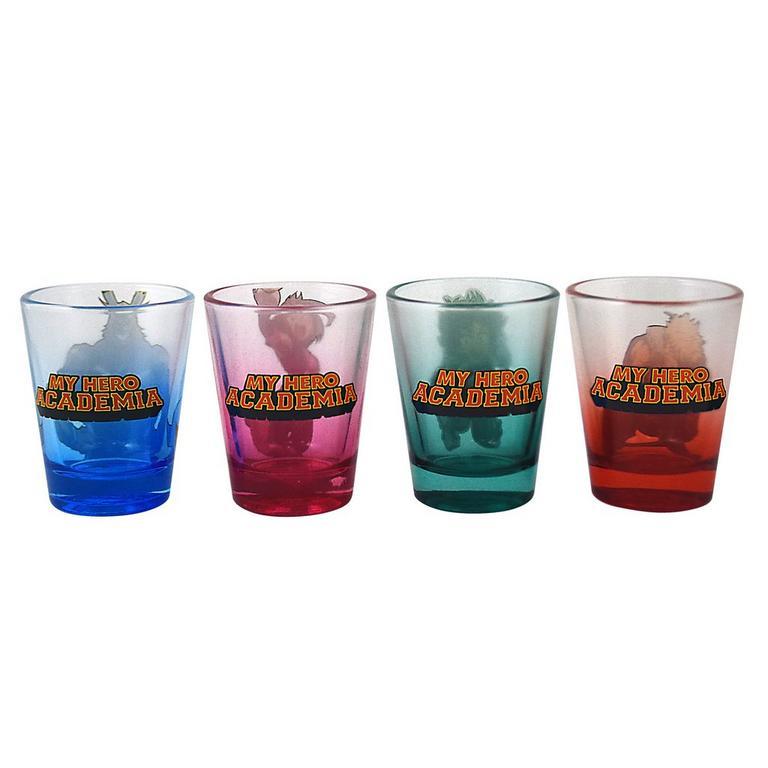 My Hero Academia Shot Glass 4 Pack