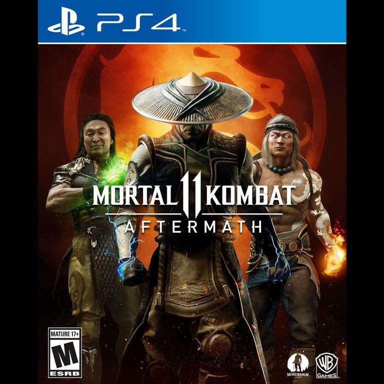 Mortal Kombat 11 Aftermath Expansion Playstation 4 Gamestop