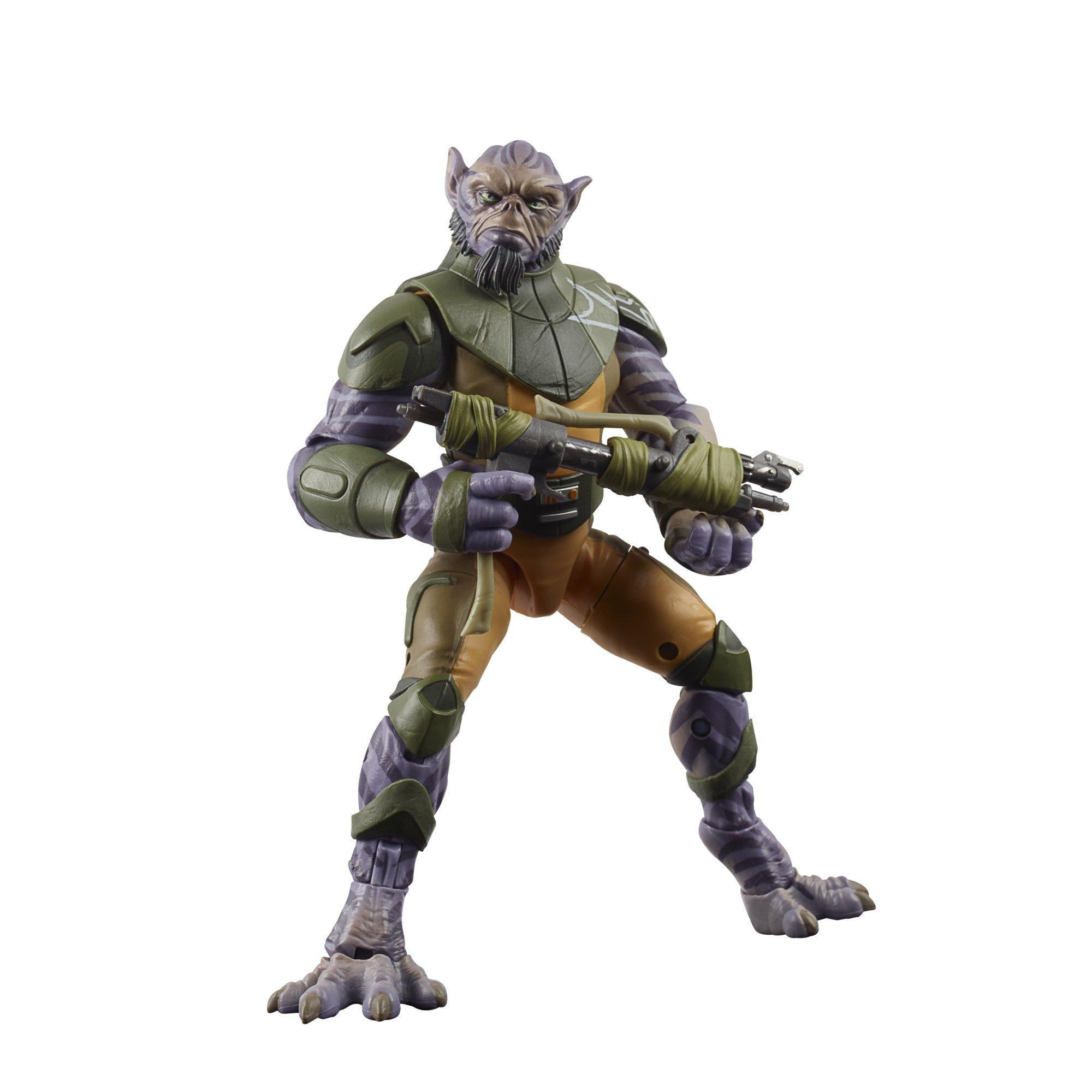 Star Wars Rebels Garazeb Zeb Orrelios The Black Series Deluxe Action Figure
