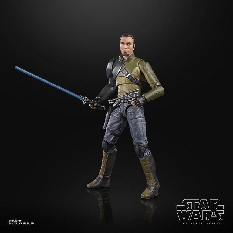 Black Star Wars Rebels Kanan Jarrus Figure
