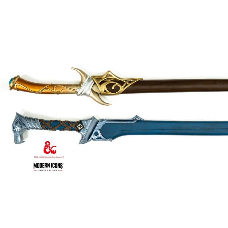 Dungeons and Dragons Drizzt Do'Urden Icingdeath and Twinkle Modern Icons Swords Set Only at GameStop