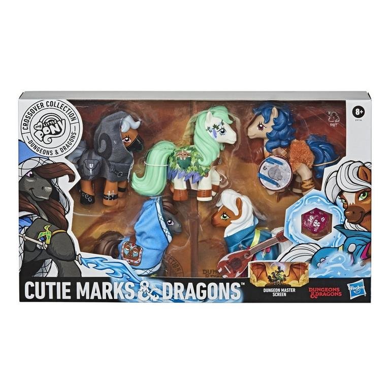 My Little Pony x Dungeons and Dragons Cutie Marks and Dragons Crossover Collection Figure 5 Pack
