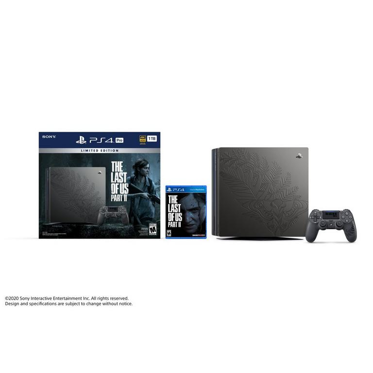 PlayStation 4 Pro The Last of Us Part II Limited Edition Bundle 1TB