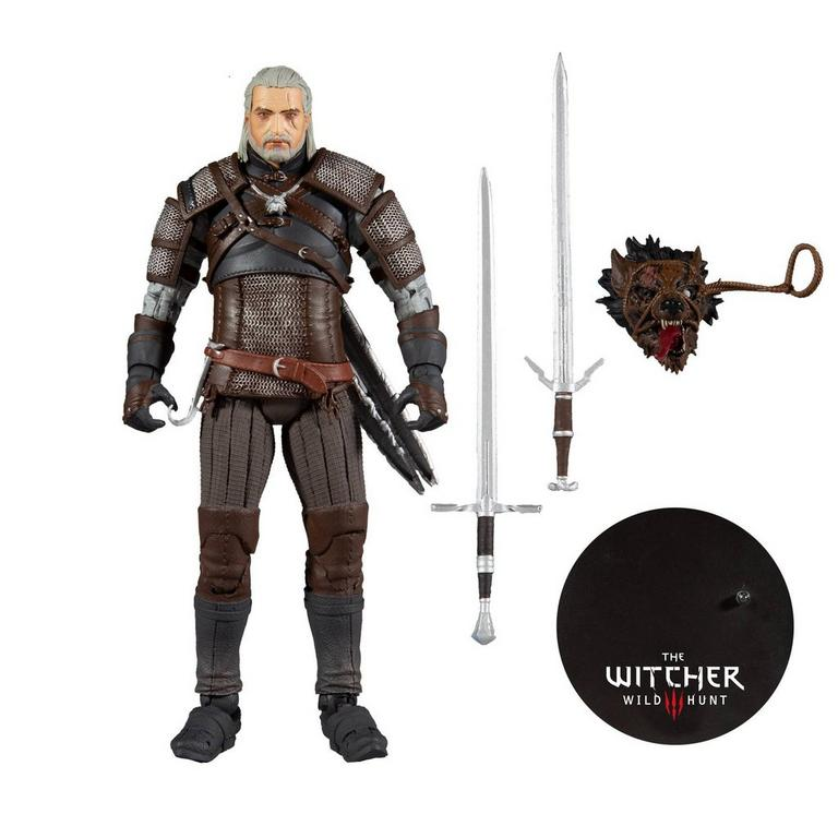 The Witcher III: Wild Hunt Geralt of Rivia Action Figure 7 inch