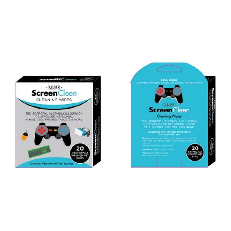 ScreenCleen Gaming Wipes