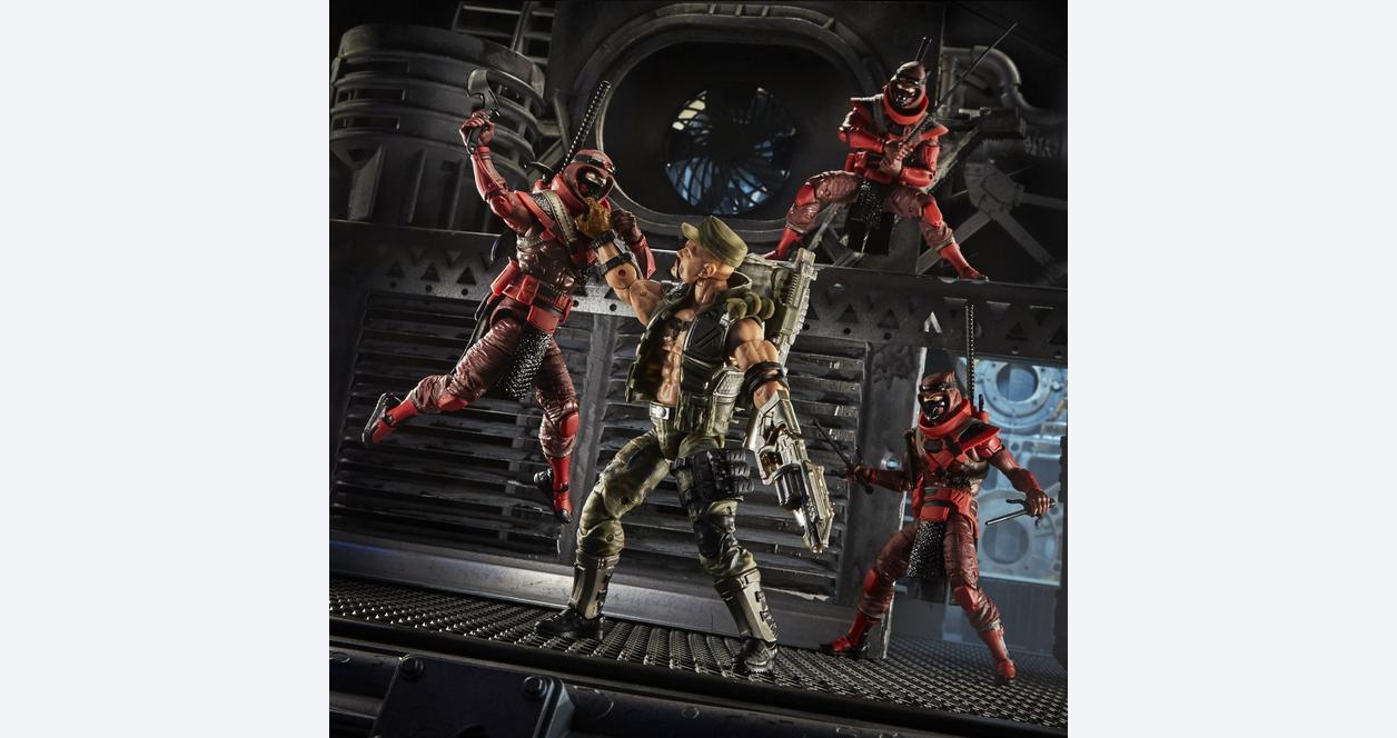 G.I. Joe Red Ninja Classified Series Action Figure
