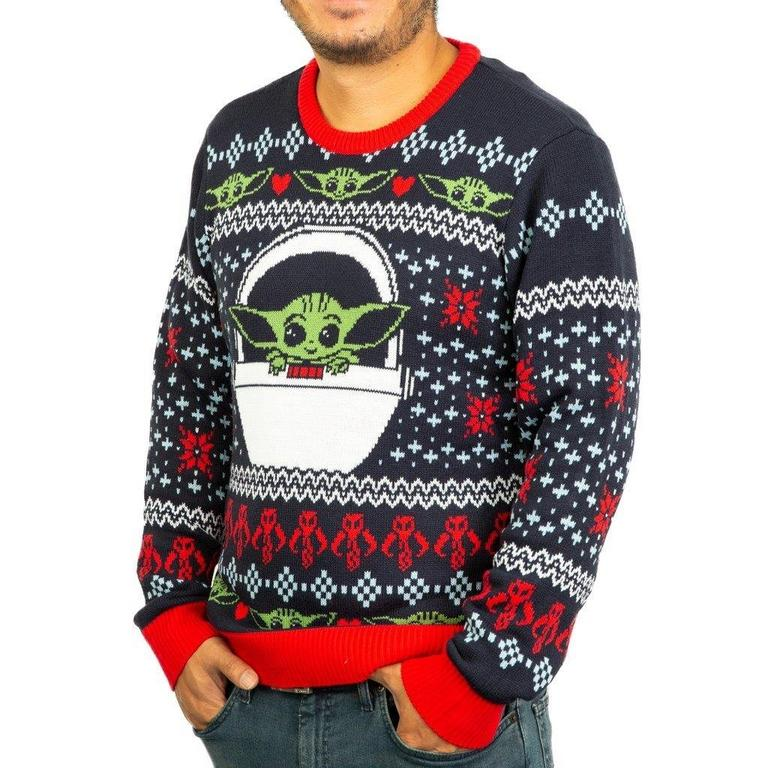 Star Wars: The Mandalorian The Child Holiday Sweater
