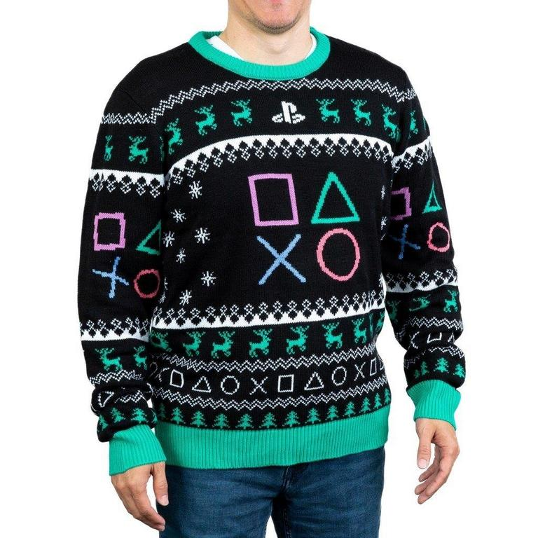 PlayStation Symbols Holiday Sweater