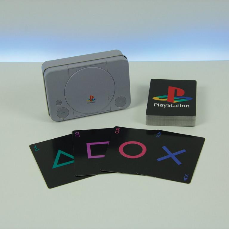Details about  /PlayStation Playing Cards and Tin Case