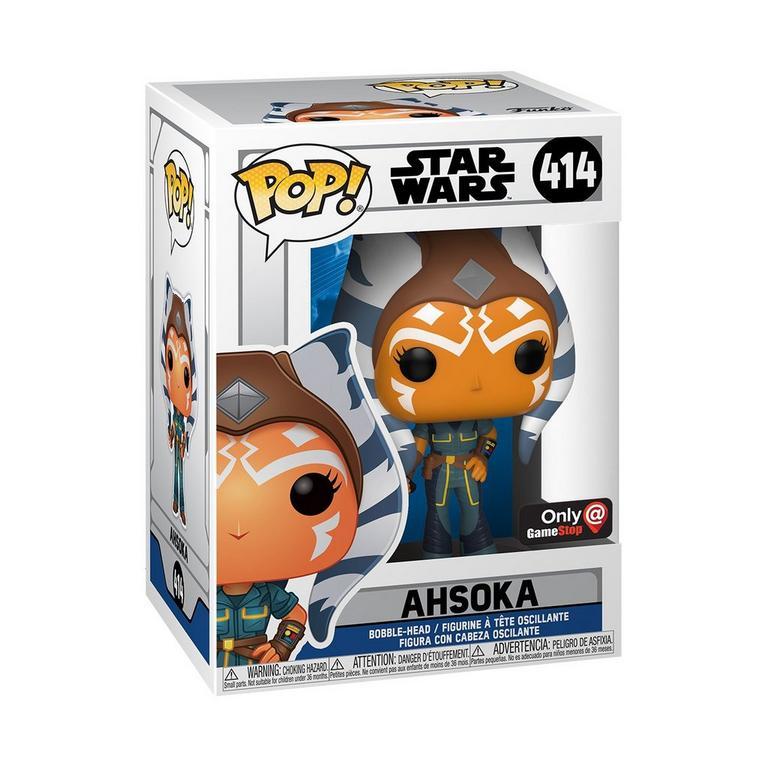 Funko POP! Star Wars: The Clone Wars Ahsoka Tano (New Pose) Only at GameStop