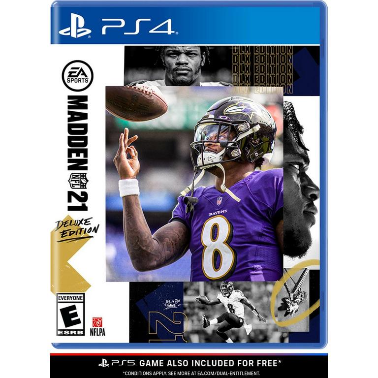 Madden Nfl 21 Deluxe Edition Playstation 4 Gamestop Madden21 sucks, but we've started a franchise in it. madden nfl 21 deluxe edition playstation 4 gamestop