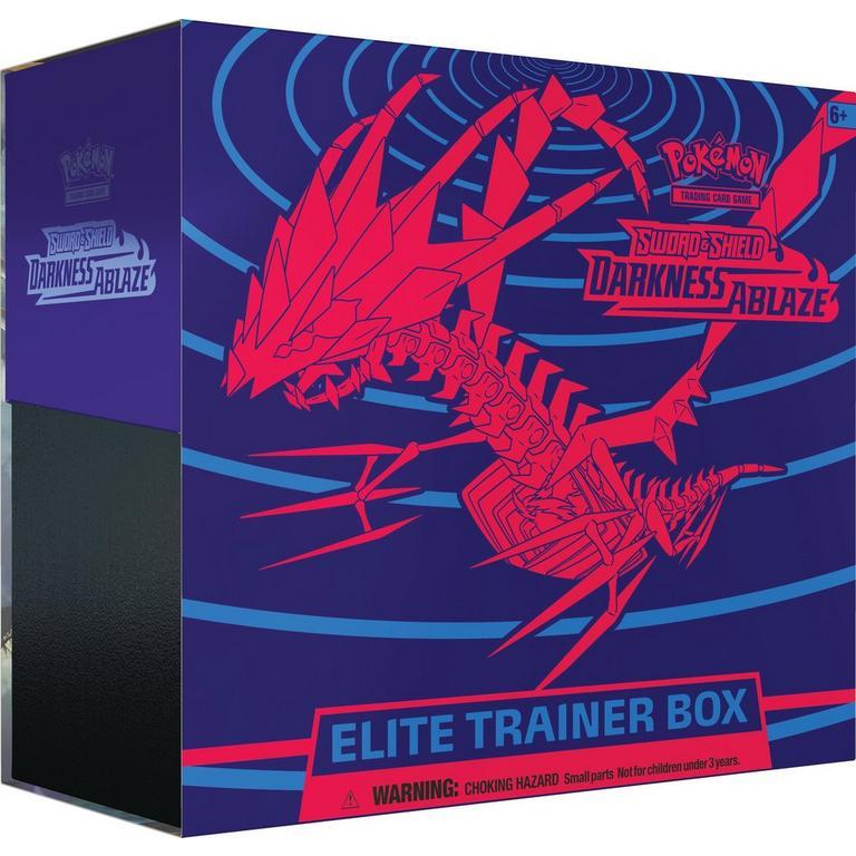 Pokemon Trading Card Game: Sword and Shield Darkness Ablaze Elite Trainer Box