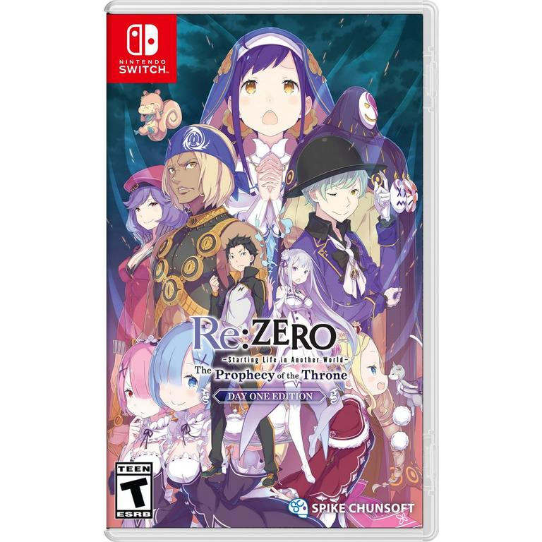 Re:ZERO - The Prophecy of the Throne Day One Edition