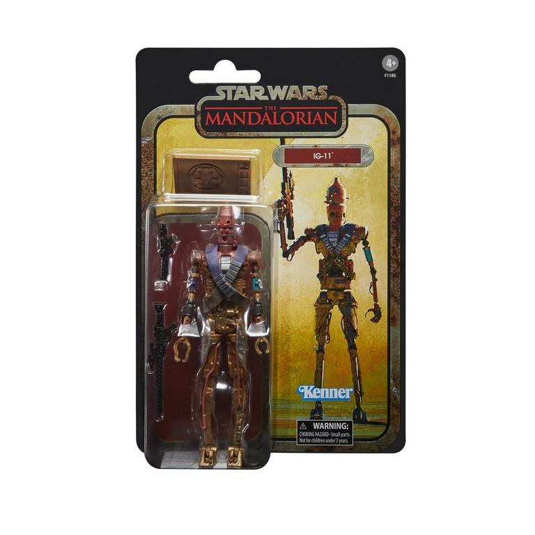 Star Wars: The Mandalorian IG-11 The Black Series Credit Collection Action Figure Only at GameStop