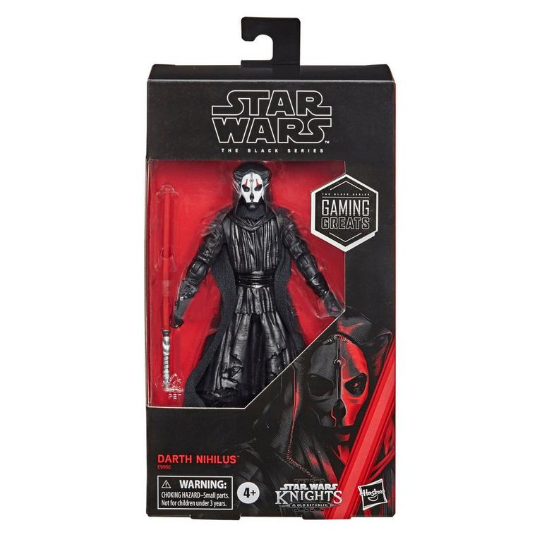 Star Wars: Knights of the Old Republic Darth Nihilus The Black Series Action Figure Only at GameStop