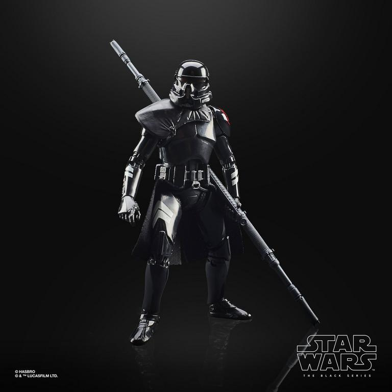 "STAR WARS GAMING GREATS BLACK SERIES 6/"" ELECTROSTAFF PURGE TROOPER PRE ORDER"
