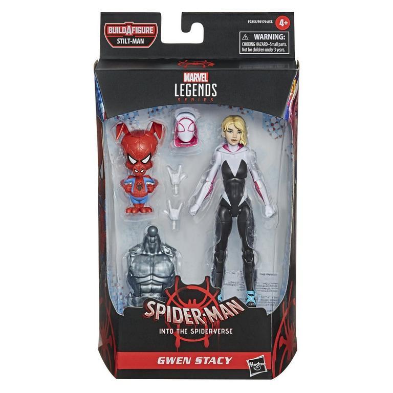 Marvel Legends Series Spider-Man: Into the Spider-Verse Gwen Stacy Action Figure