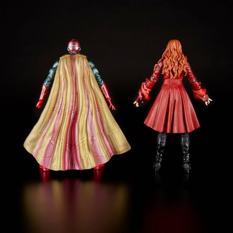 Marvel Legends Series Avengers: Infinity War Scarlet Witch and Vision Action Figure 2 Pack