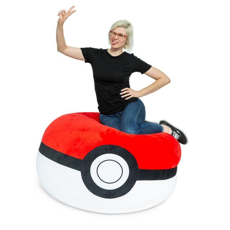 Pokemon Poke Ball Bean Bag Chair