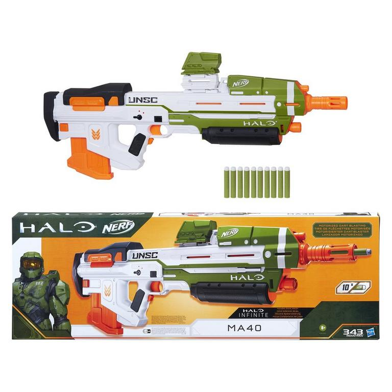 Nerf Halo MA40 Motorized Dart Blaster