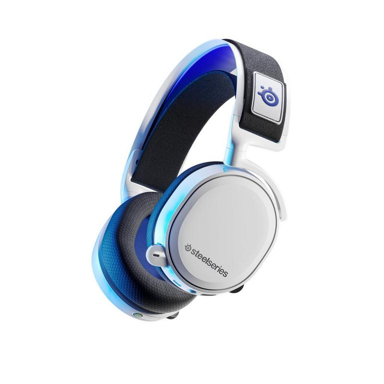 Arctis 7P White Wireless Gaming Headset for PlayStation 5