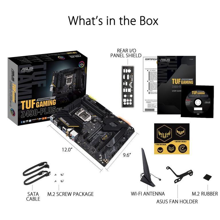 ASUS TUF Gaming Z490-PLUS (Wi-Fi) Motherboard