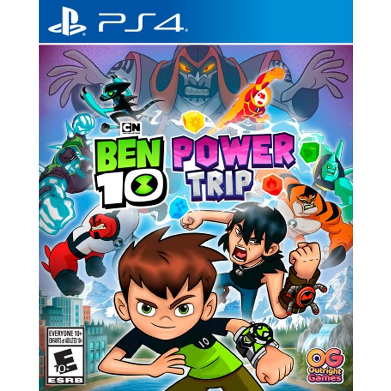 Ben 10 Power Trip Playstation 4 Gamestop