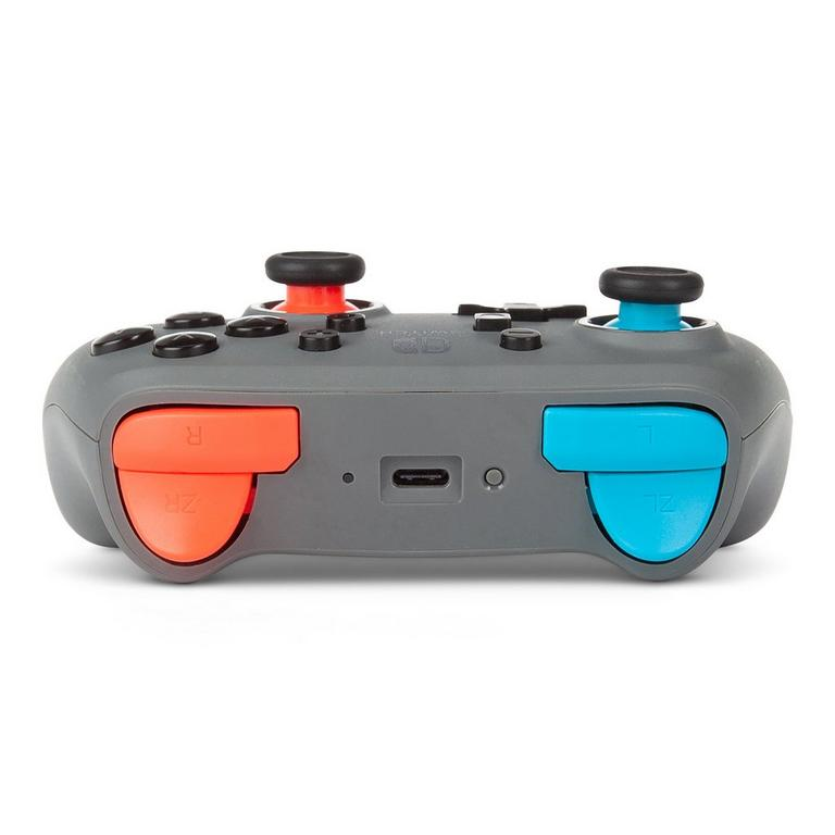 Gray-Neon Nano Enhanced Wireless Controller for Nintendo Switch