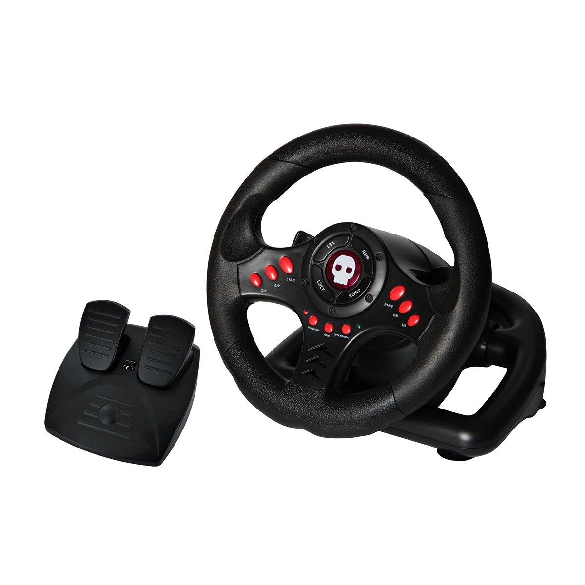 Multi Format Steering Wheel And Pedals Universal Gamestop