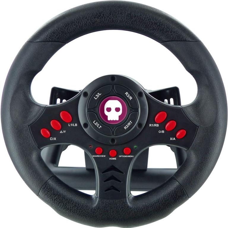 Multi-Format Steering Wheel and Pedals